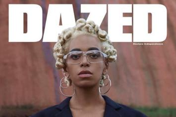 "Solange Talks Recording Her Upcoming Album In Jamaica For ""Dazed Magazine"""