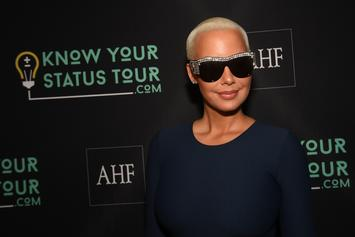 "Amber Rose Vents To Her Fans: ""No One Wants To Ever See Me Happy"""