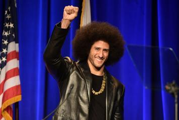 Colin Kaepernick Receives Amnesty International's Highest Honor
