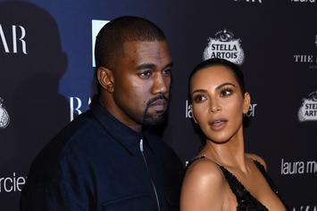 "Kim Kardashian Shares PSA To Media Outlets ""Trying To Demonize"" Kanye West"
