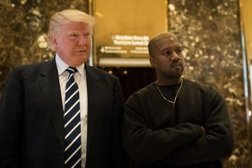 Donald Trump Thanks Kanye West For Recent Statements