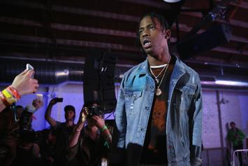 "Travis Scott Cops Houston-Inspired ""Astroworld"" Chain"