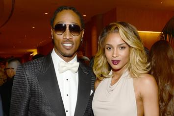 Ciara Brings Baby Future To Studio