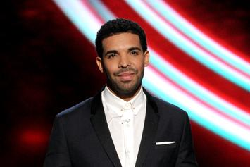 """Watch Drake Accept The """"Best International Male Solo Artist"""" Award At The BRITs"""