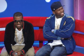 "50 Cent Coins Daz Dillinger's Kanye West Warning ""Crips Vs Kardashians"""