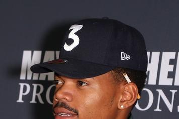 Chance The Rapper Showcases #ThankUObama Clothing Collection To Honor The Obamas