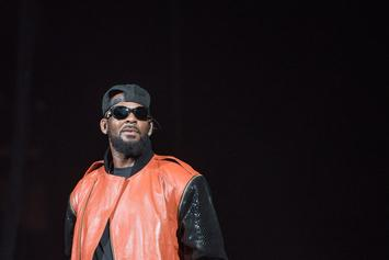 "R. Kelly Responds To Time's Up Boycott, Calls It A ""Public Lynching"""