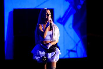 "Ariana Grande Announces Album Title & Performs ""No Tears Left To Cry"" On Fallon"