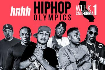 Hip-Hop Olympics Bracket Week 1: California Love