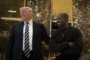 Kanye West Has Reportedly Doubled Donald Trump's Support Among Black Men