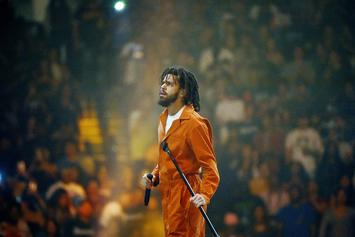 "J. Cole Shuts Down ""F*ck Lil Pump"" Chant During Live Performance"