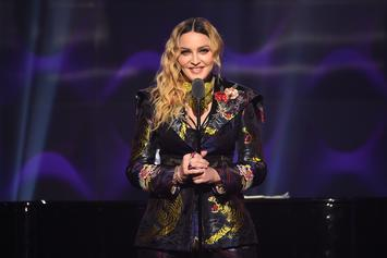 Madonna May Be Recording Anti-Trump Anthem