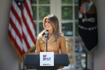 "Melania Trump's ""Be Best"" Booklet Accused Of Plagiarizing Obama-Era Text"