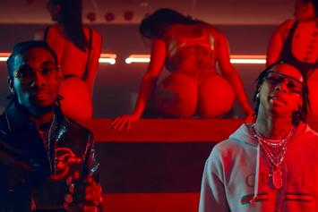 "Tyga & Offset Throw A Wild Pool Party In NSFW-Video For ""Taste"""
