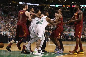 """Marcus Smart Calls Out JR Smith For Cheap Foul: """"He's Known For It"""""""