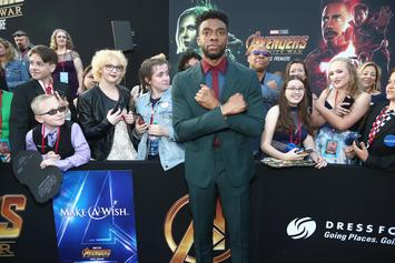 "Chadwick Boseman's Fans Go To Great Lengths To Do The ""Wakanda Forever"" Salute"