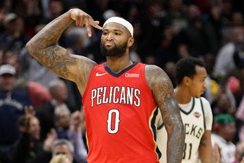 """DeMarcus Cousins """"Very Open"""" To Resigning With New Orleans"""
