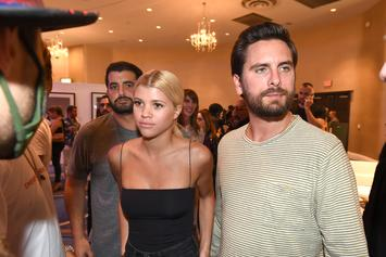 Sofia Richie Resembles Kourtney Kardashian While Out With Scott Disick
