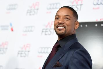 Will Smith Spits Some Fire In The Booth While Announcing New Music