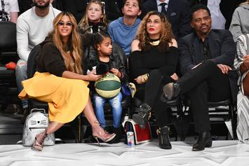 Blue Ivy Is Still The Boss: Shuts Down Grandma Tina From Filming Video