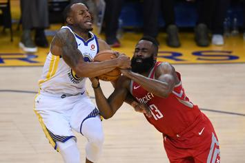 Warriors' Andre Iguodala To Miss Crucial Game 7 Against Rockets