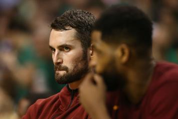 Cavs' Kevin Love Still In Concussion Protocol, Game 1 In Jeopardy
