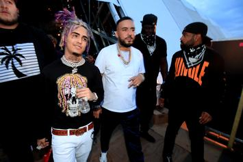 "French Montana Imitates Lil Pump On The Beach: ""F-ck J. Cole, You Heard?"""