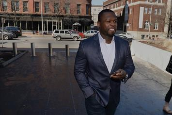 """50 Cent On """"Get The Strap"""" Investigation: """"NYPD Gonna F-ck Us All Up"""""""