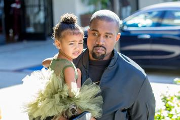 """Kanye West Shares Video Of North West Singing """"No Mistakes"""""""