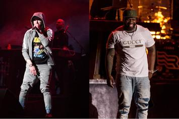 Eminem's Veteran Wiles, 50 Cent Surprise & A Nicki Minaj Shout Out At Governors Ball Finale