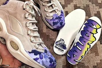 Cam'ron Teases Reebok Question Collab