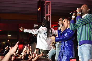 """Cardi B, Migos, Meek Mill, Lil Yachty, & More Show Out For QC Head """"Pee's"""" Birthday"""