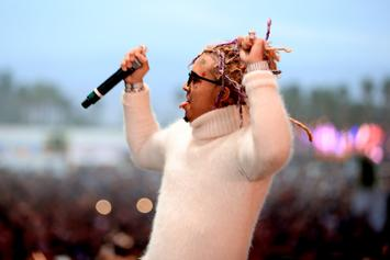 Lil Pump Pulls Another Death-Defying Jump Into Concert Crowd