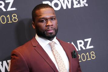 50 Cent Spotted Hanging Out With Alleged Crooked NYPD Detective At Boxing Match
