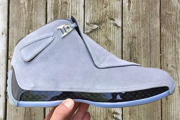 """""""Cool Grey"""" Air Jordan 18 To Release For First Time Ever"""