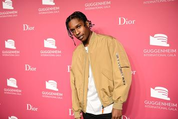 A$AP Rocky's Upcoming Under Armour Sneaker: On-Foot Look