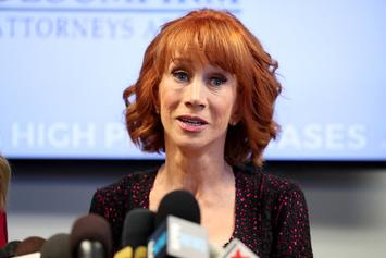 "Kathy Griffin: Kevin Hart Avoiding Trump Jokes Is ""A P*ssy Move"""