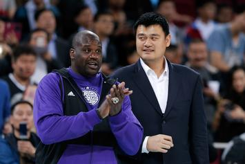 Shaquille O'Neal, Allen Iverson & Yao Ming Headline 2016 NBA Hall Of Fame Class