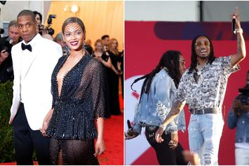 """The Migos Demo Of Jay-Z & Beyonce's """"Apesh*t"""" Has Surfaced"""