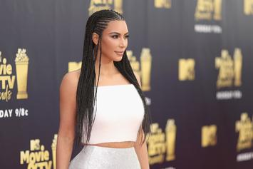 Kim Kardashian Dragged For Wearing Braids To MTV Movie & TV Awards