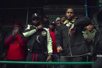 "Dave East Joins NYM Lo In The Harlem Streets In New Video For ""Speedin"" Remix"