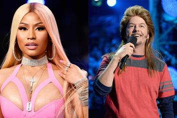 Nicki Minaj Will Be Rocking A Mullet For All Of Summer 2018
