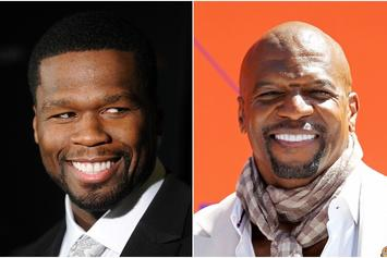 """50 Cent Sets Sights On Terry Crews In Latest """"Get The Strap"""" Madness"""