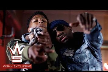 """Ralo & NBA YoungBoy Link In """"Rain Storm"""" Video"""