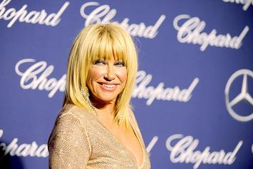 """Suzanne Somers Defends Morgan Freeman, Says He's Just A """"Big Flirt"""""""