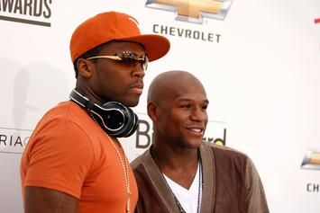 50 Cent Brutally Trolls Floyd Mayweather's Alleged Illiteracy In Deleted Post