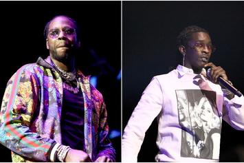 """2 Chainz & Young Thug Link Up For Some """"Studio Vibes"""""""