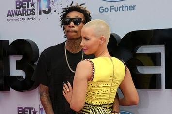 Amber Rose Shows Major Love To Wiz Khalifa On Album Release Day