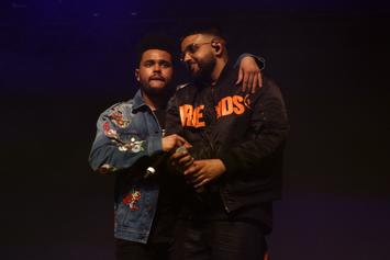 The Weeknd's Manager, Cash, NAV, Gunna & Wheezy Take Private Jet To New Music