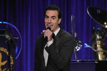 "Sacha Baron Cohen Teases Epic Political Trolling In ""Who Is America"" Segment"